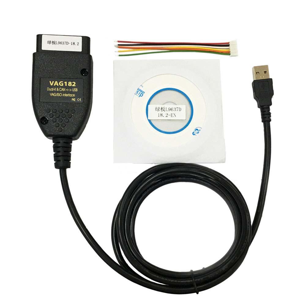 US$23 00 - Hot Sale VAG COM 18 2 VCDS 18 2 HEX+CAN-USB