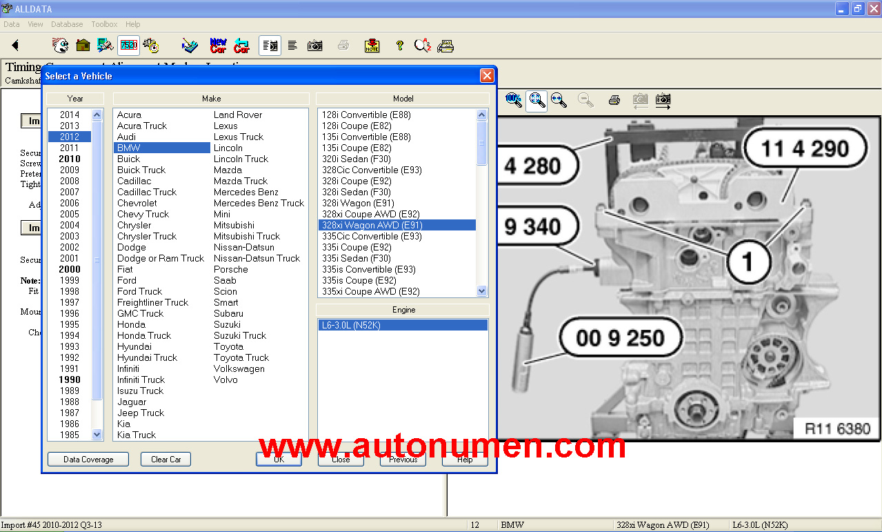 the best auto repair software alldata 10 53   2015