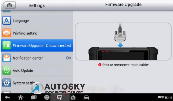 How to Update AUTEL MaxiDAS DS808 Android Tablet Diagnostic Tool
