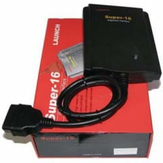 Launch Super-16 Diagnostic Connector-Universal 16pin adapter for X431 scanner