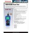AUTOSNAP A810 OBDIIEOBD Code Scanner