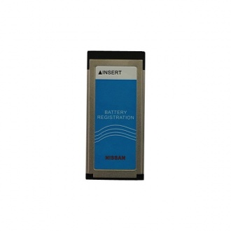 Nissan consult-3 plus Battery Registration Card