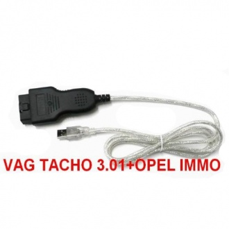 VagTacho V3.01+ Opel Immo AirBag Scanner