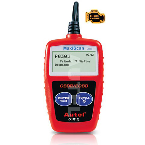 CAN OBDII CODE READER MaxiScan MS309