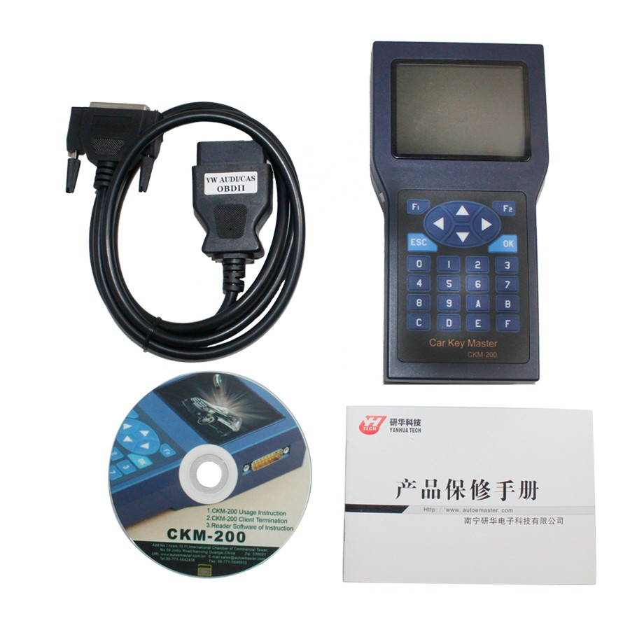 Car Key Master CKM200 with 30 Tokens