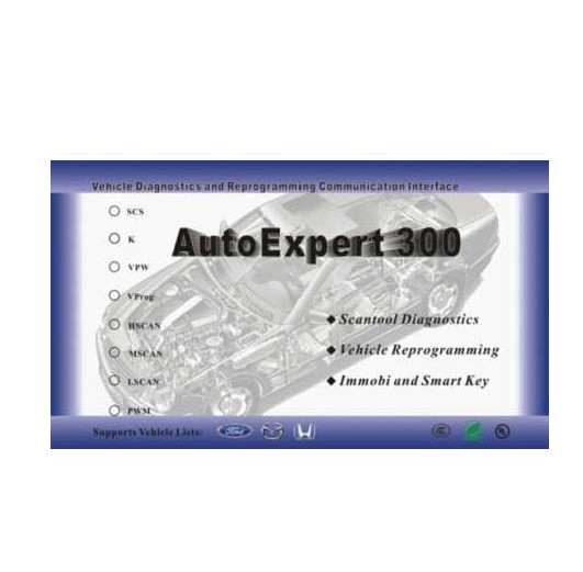 AutoExpert 300 For all Honda,Ford,Mazda and Landrover