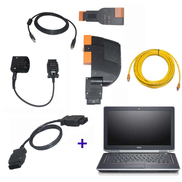 Best Quality BMW ICOM A+B+C with DELL 6420 laptop 2017.09