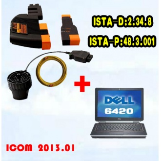 Best Price BMW ICOM With Latest software 2013.07 Version HDD Plus DELL 6420 Laptop