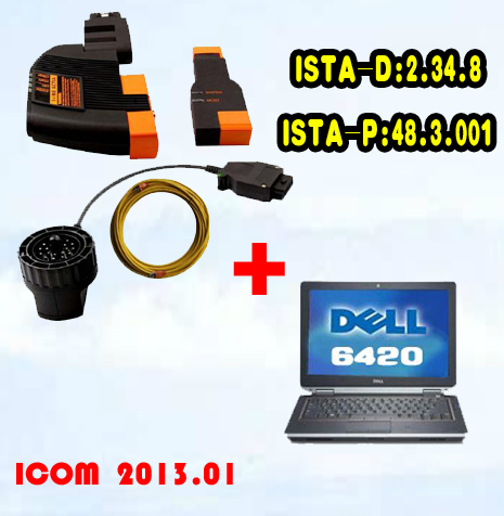 Best Price BMW ICOM With Latest software 2017.03 Version HDD Plus DELL 6420 Laptop