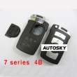 Bmw 7 series smart key shell 4 button with key blade