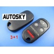 honda remote shell 4 button