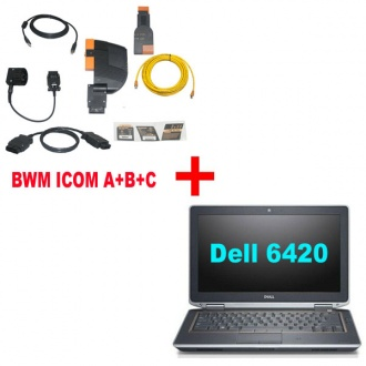 BMW ICOM A+B+C With Latest software 2017.09 Engineers Version Plus DELL E6420 Laptop