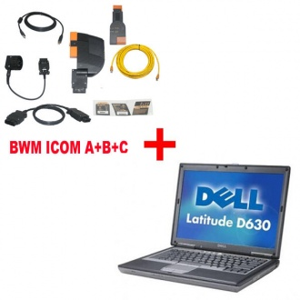BMW ICOMA+B+C With 2017.09 EngineersVersion Plus Dell D630 Laptop