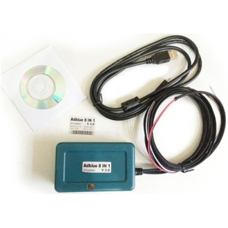 Adblue Emulator 8-in-1 for Mercedes MAN Scania Iveco DAF Volvo Renault and Ford