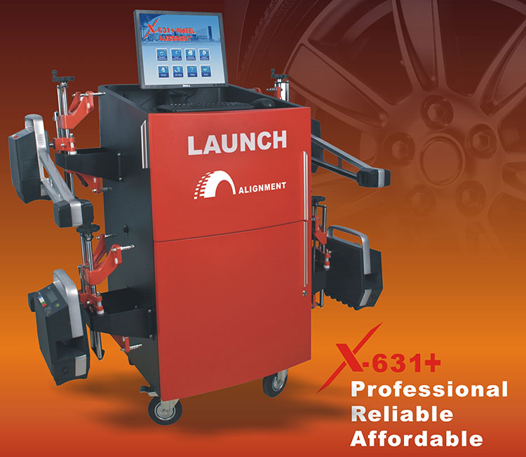 LAUNCH X631+ Wheel Aligner