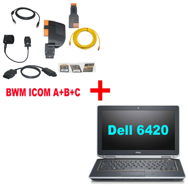 BMW ICOM A+B+C With Latest software 2020.05 Engineers Version Plus DELL E6420 Laptop