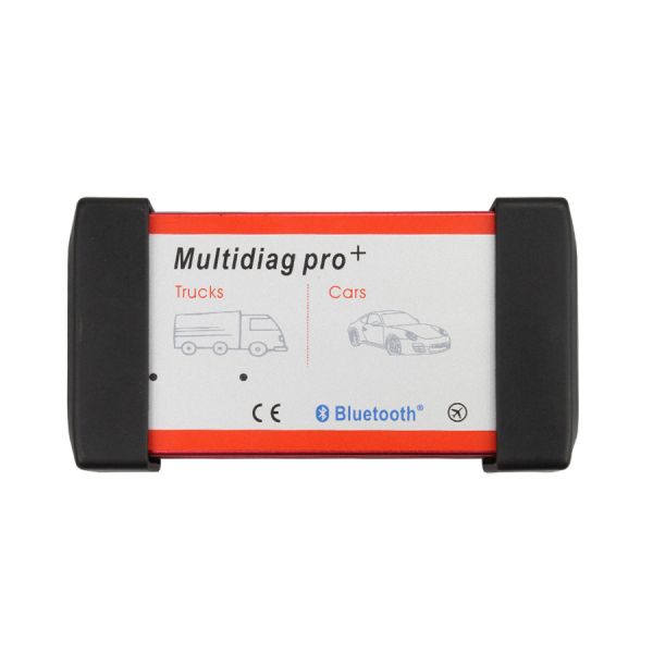 New Design Bluetooth Multidiag Pro+ V2015.03 for Cars/Trucks and OBD2 with Plastic Box