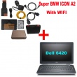 Super BMW ICOM A2 With Latest software 2017.09 Engineers Version Plus Laptop with WIFI