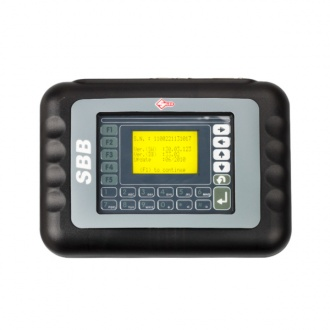 SBB Silca Key Programmer Updated Newest Version V33.02 With Best Quality