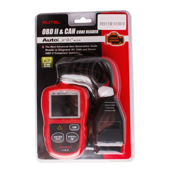 Autel Autolink Al319 Obd Iieobd Code Reader Html Autos