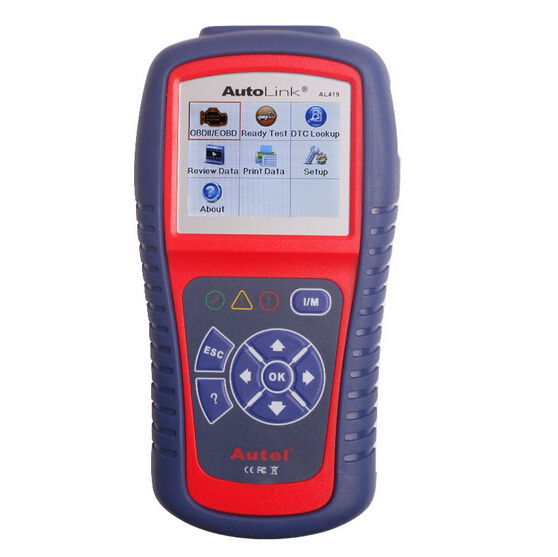 Autel AutoLink AL419 OBDII and CAN Scan Tool