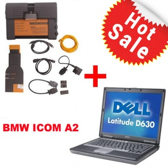 BMW ICOM A2+B+C With Latest software 2017.09 Engineers Version Plus Dell D630 Laptop