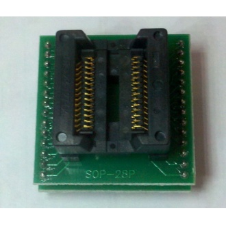 SOP28 SOP28P SOP-28P socket adapter for chip programmer (bounce)