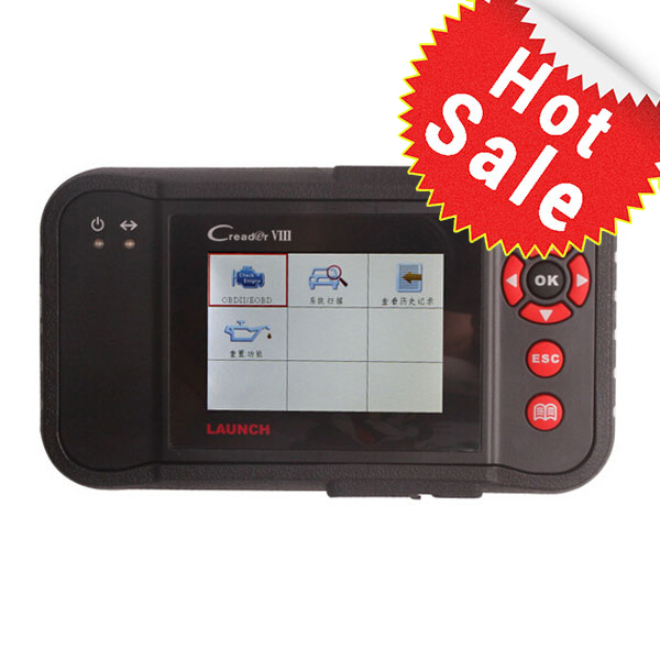 Launch X431 Creader VIII Comprehensive OBDII Code Reader