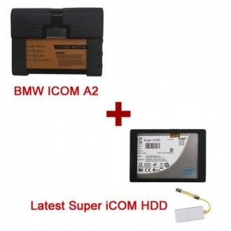 Best Quality BMW ICOM A2+B+C with Super iCOM 2016.12 Version Software Fit All Sata Laptops