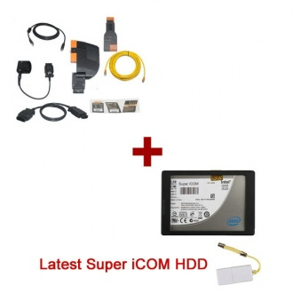 Best Quality BMW ICOM A+B+C With Super ICOM 2017.09 Version Software Update Online Fit All Sata Latops