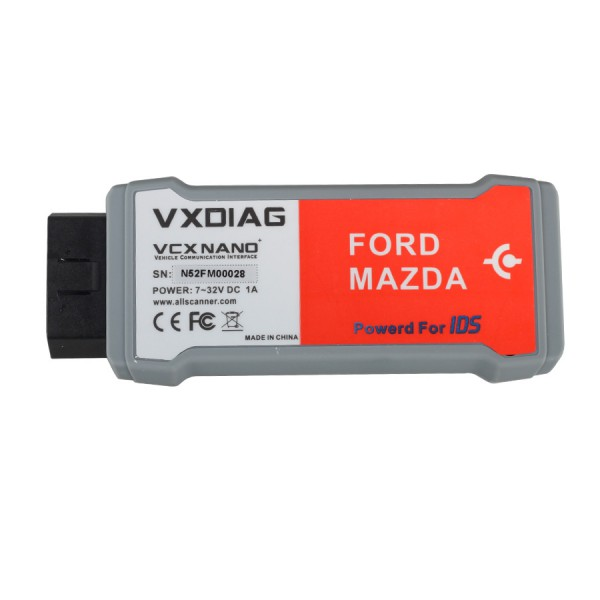 VXDIAG SuperDeals VXDIAG VCX NANO for Ford/Mazda 2 in 1 with IDS 107/V108