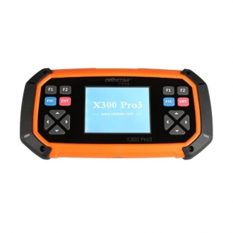 OBDSTAR X300 PRO3 Key Master Full Package Configuration with Immobiliser+Odometer Adjustment+EEPROM/PIC+OBDII+EPB+Oil/Se