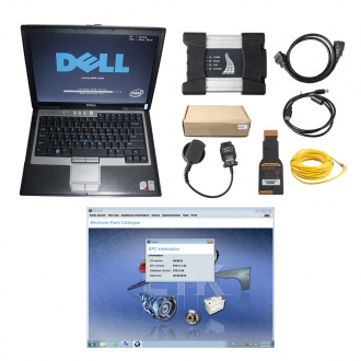 BMW ICOM NEXT A+B+C New Generation OF ICOM A2 With 2019.12V Engineers software Plus Dell D630 Laptop Ready to Use
