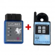 Mini ND900 Transponder Key Programmer Plus Toyo Key OBD II Key Pro Support 4C 4D 46 G H Chips