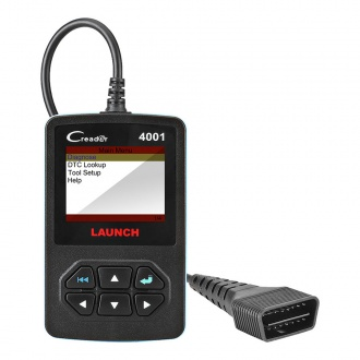 Launch DIY CReader 4001 OBDII/EOBD Auto Diagnostic Scan Tool Code Reader