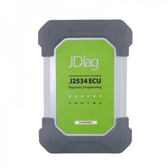 JDiag Elite II Pro J2534 Device with Full Adapters for Diagnoctic and Coding