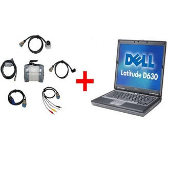 Mb Star C3 Plus Dell D630 Laptop-for Benz Trucks & Cars) 2015.12 version