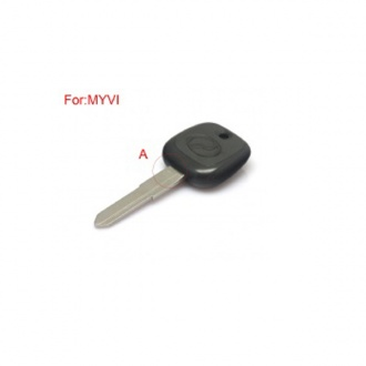 Transponder Key Shell GDH (Blade With A) For MYVI
