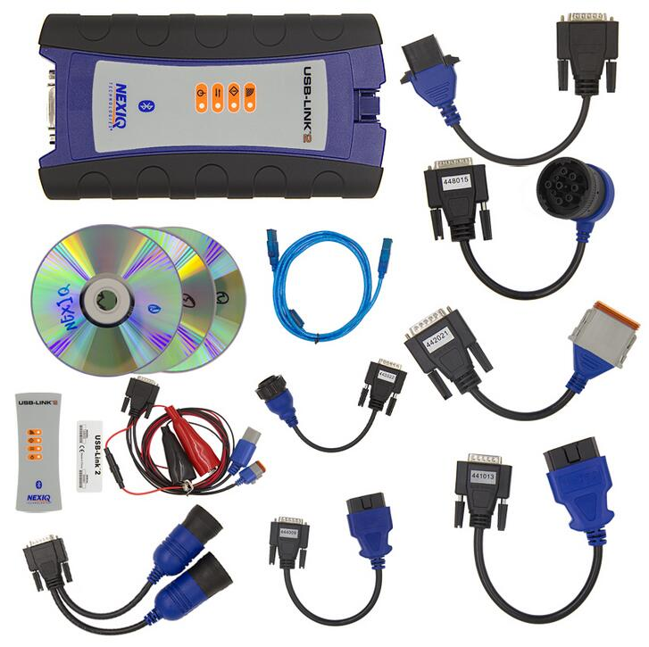 NEXIQ-2 NEXIQ 2 USB Link + Software Diesel Truck Interface and Software with All Installers