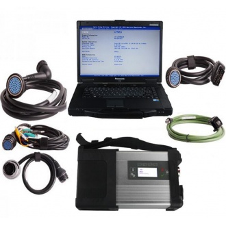 V2019.09 MB SD C4/C5 Star Diagnosis Plus Panasonic CF52 Laptop With Vediamo and DTS Engineering Software Support Offlin8