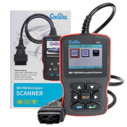 Creator C501 OBDII/EOBD Multi-system Diagnostic Scan Tool for BMW 2001 to 2019