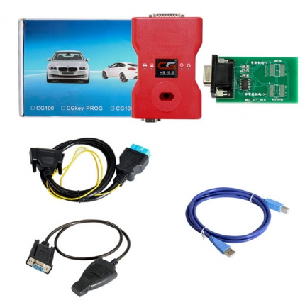 CGDI Prog MB Benz Car Key Programmer Fastest Add Keys Supports All Keys Lost Free Two Tokens Each Day