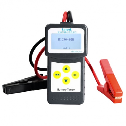 2017 Car Battery Tester/Analyzer MICRO-200 for 12 Volt Vehicles