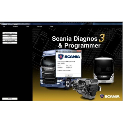 Scania SDP3 2.33 (2018) Diagnosis & Programmer + Activation without Dongle