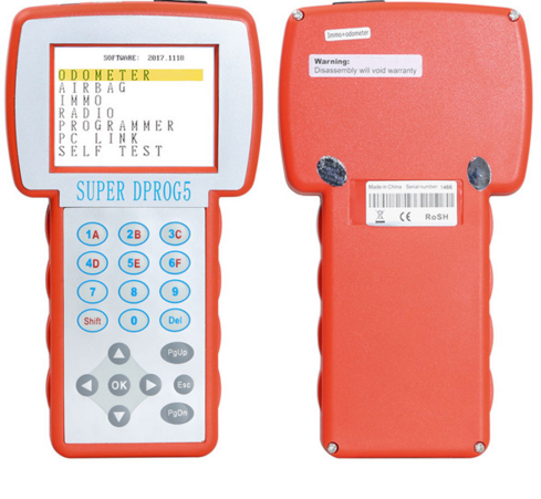 US$295 00 - Hot Sale Super Dprog5 IMMO Odometer Airbag 3 in 1 Reset