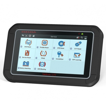 Eucleia TabScan S7C Automotive Intelligence Diagnostic System Full System Scanner with ABS EPB CVT TPMS Oil Service Rese