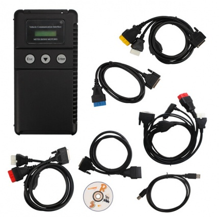 Best price Mitsubishi MUT-3 diagnostic tool for cars and trucks with  CF card and Coding Function