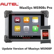 Autel MaxiSys Pro MS908P MS908S Pro Automotive Diagnostic & Analysis System with MaxiFlash Elite J-2534 ECU Programming