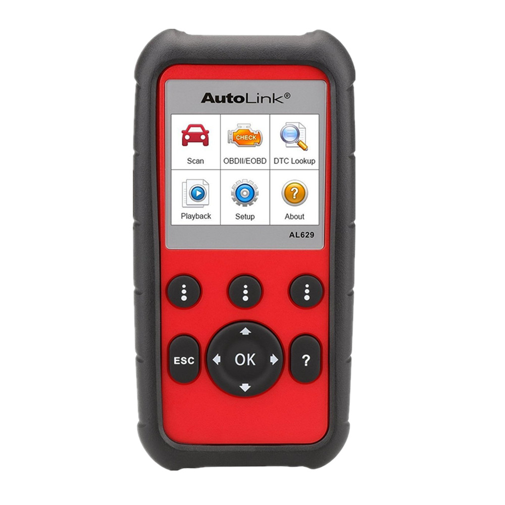 Autel AL629 AutoLink supporting ABS/SRS/Engine/Transmission + CAN OBDII Pro Service Tool