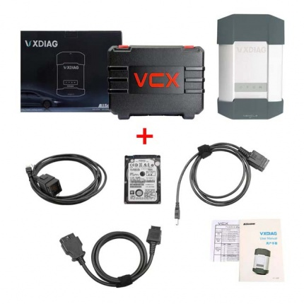 VXDIAG Multi Diagnostic Tool BENZ MB SD Connect C5 Plus BMW ICOM next 2 in 1 Scanner